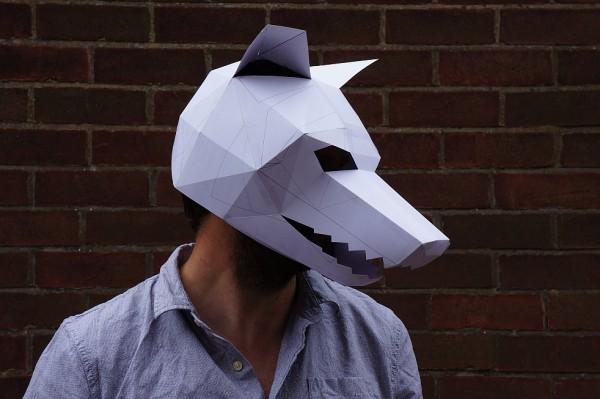 Top 8 des masques en carton imprimer et faire soi m me topito - Masque de loup a fabriquer ...