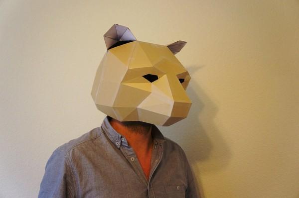 fabriquer un masque en carton. Black Bedroom Furniture Sets. Home Design Ideas