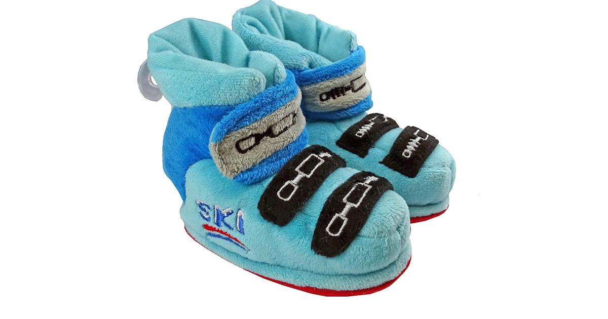Des chaussons raton laveur Topito
