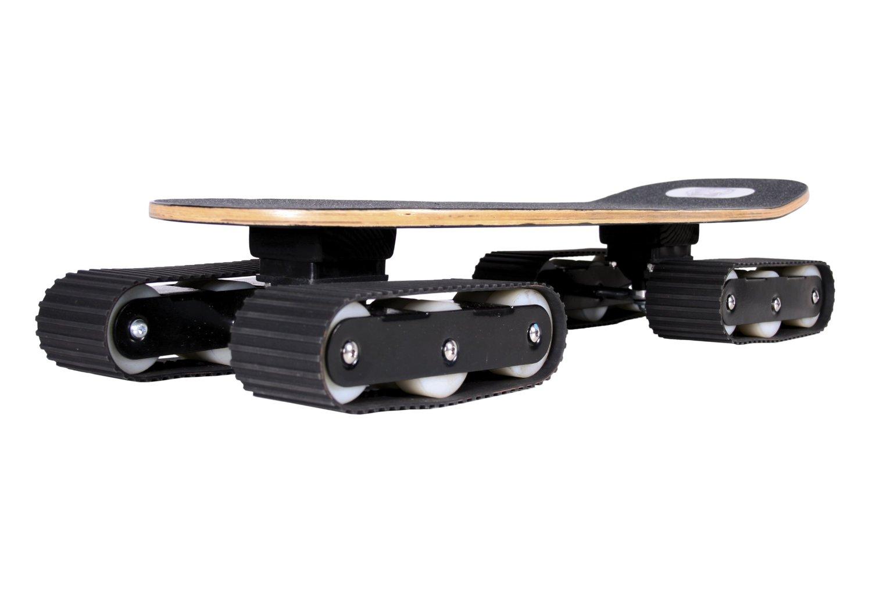 un skateboard 4 4 tout terrain avec des chenilles comme un char oui topito. Black Bedroom Furniture Sets. Home Design Ideas