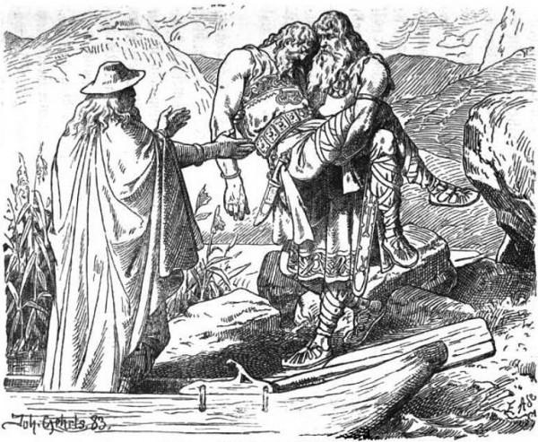 elfes mythologie nordique