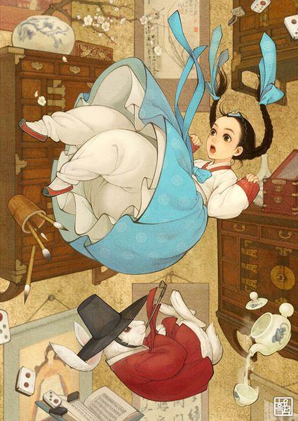 asian-korean-disney-remake-illustration-na-young-wu-7_resultat