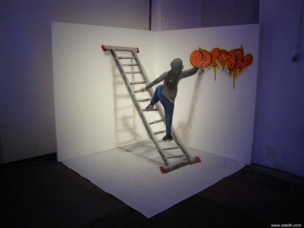 caracter-on-Ladders-Bombing-Graffiti-Bubble-Letters-Lisboa-Portugal