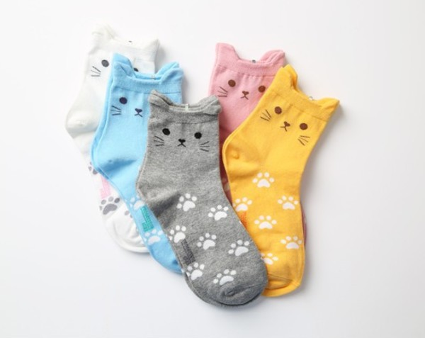 chaussettes-chat