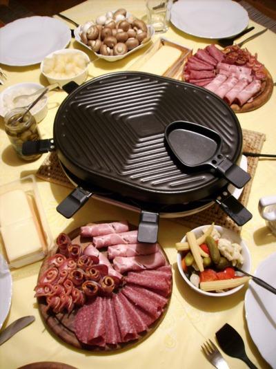 Raclette - Astuce pour une raclette originale ...