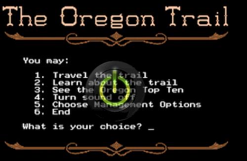 Oregon Trail  jeu_resultat
