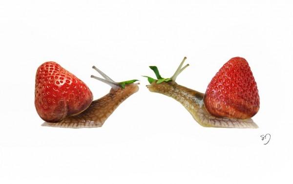 SnailStrawberry