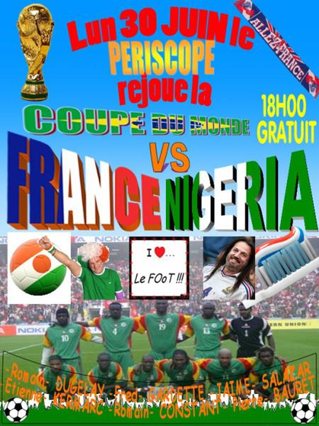 france Nigeria