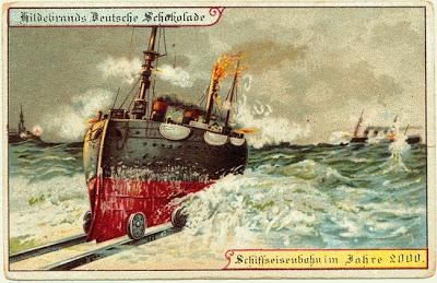 ship and railway