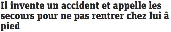 accident fake