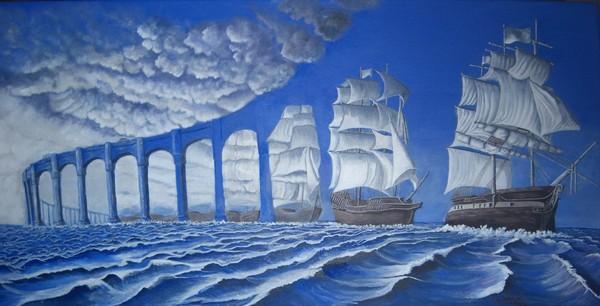 The Sun Sets Sail