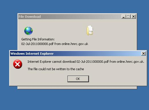 Cannot Pdf From Internet Explorer