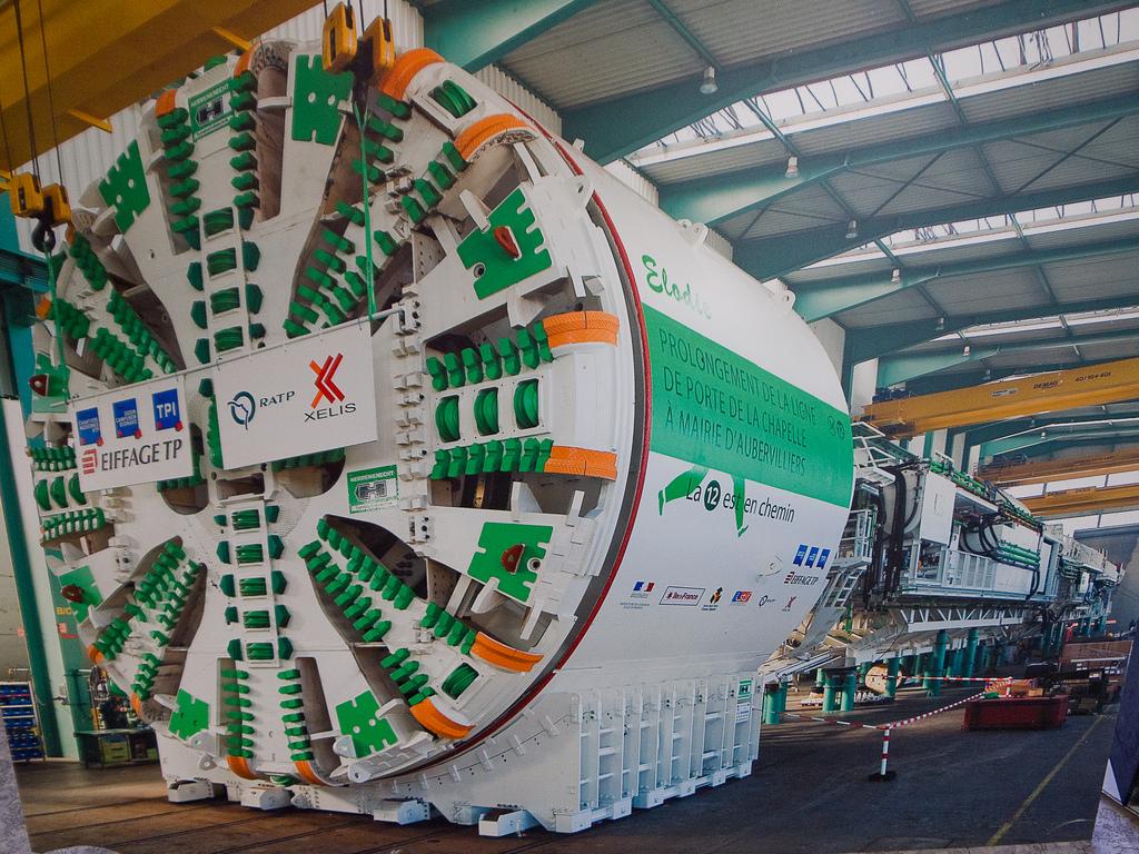 Journées du patrimoine 2011 - visite du tunnelier Elodie - prol
