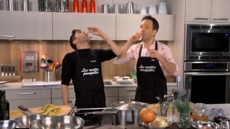 les recettes pompettes avec xavier dolan : de l'alcool en cuisine