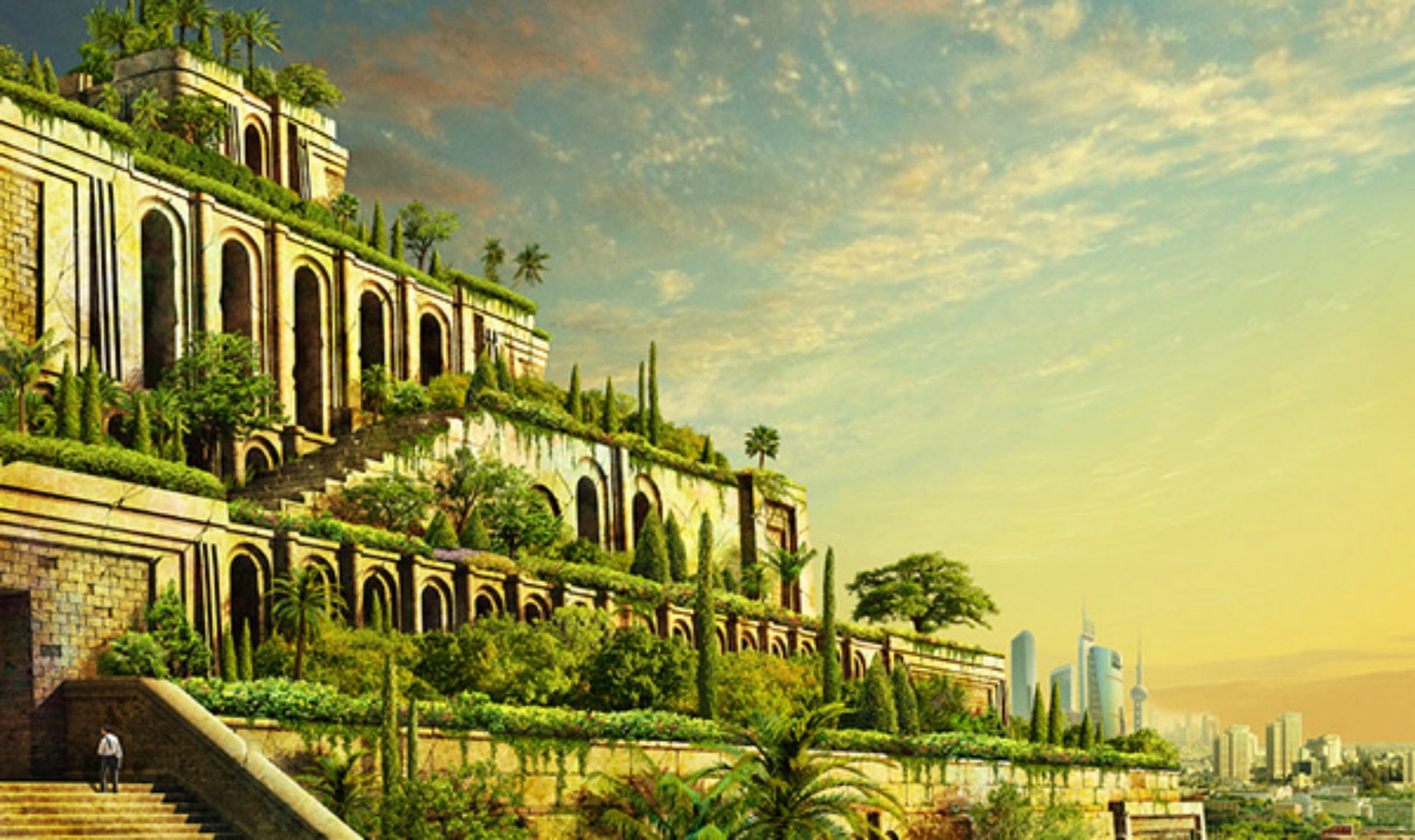 Babylonian hanging garden pictures What History Got Wrong About The Hanging Gardens Of Babylon