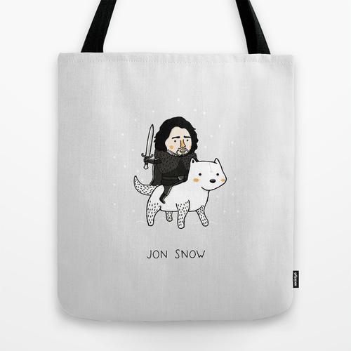 jon-snow-tote-bag