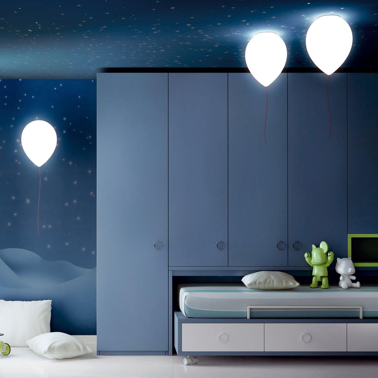 des lampes et appliques ballons de baudruche topito. Black Bedroom Furniture Sets. Home Design Ideas