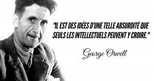 Top 10 Des Citations De George Orwell Les Verites Qui Blessent