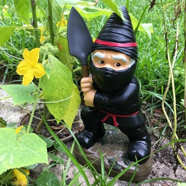 Un nain de jardin ninja topito - Collectionneur nain de jardin ...
