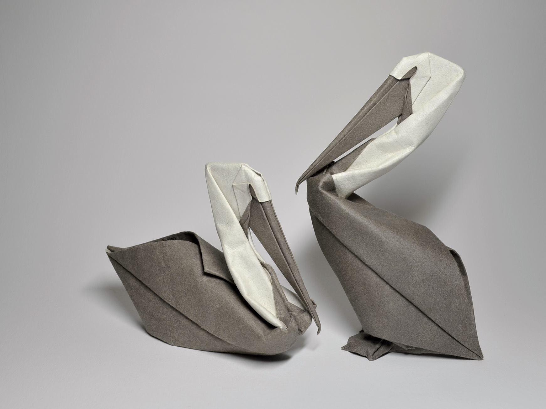 origami-pelican