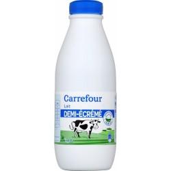 Combien de graisse est dans le lait écrémé