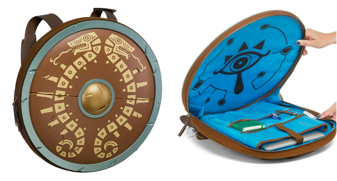 Le sac dos bouclier de link dans zelda breath of the - Link dans zelda ...