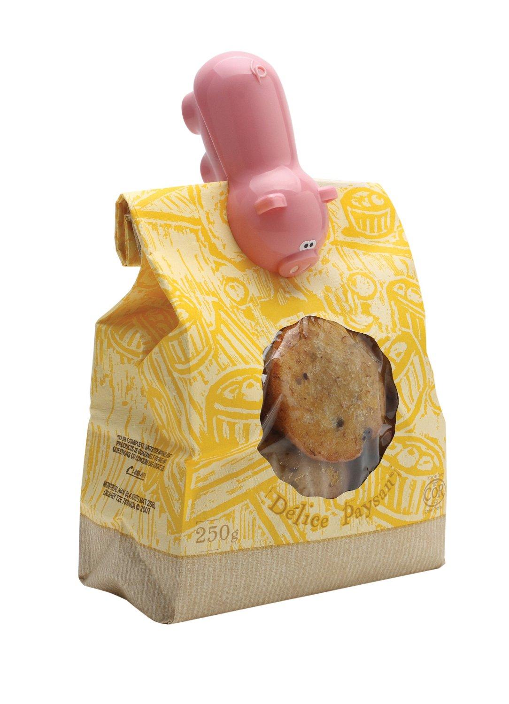 des pinces cochon pour refermer les sachet type sachet de madeleines au hasard par exemple. Black Bedroom Furniture Sets. Home Design Ideas