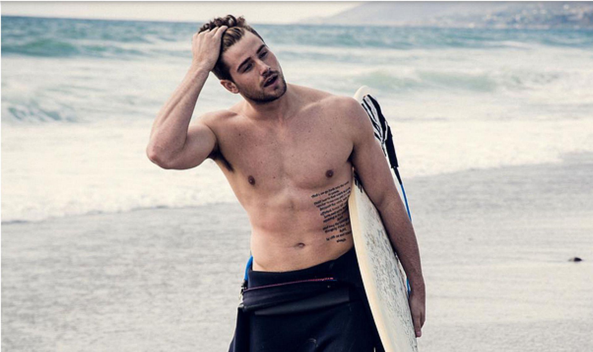 Surfeur californien