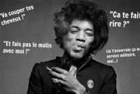 "Jimi Hendrix ""Smoking"" taken in early 1967 in Gered's Masons Yard studio in London."