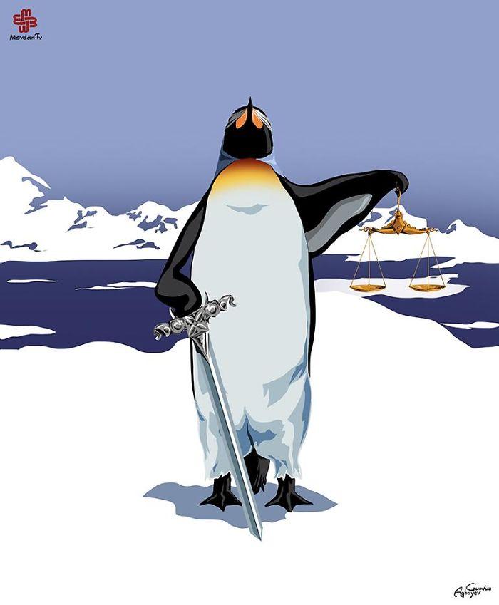 gunduz-agayev-pingouin-land