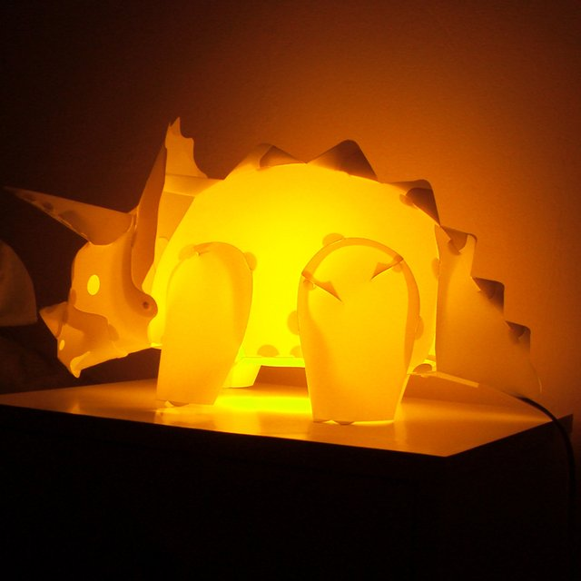 lampe de chevet dinosaure. Black Bedroom Furniture Sets. Home Design Ideas