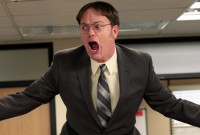 """THE OFFICE -- """"Livin' The Dream"""" Episode 921 -- Pictured: Rainn Wilson as Dwight Schrute -- (Photo by: Chris Haston/NBC/NBCU Photo Bank)"""