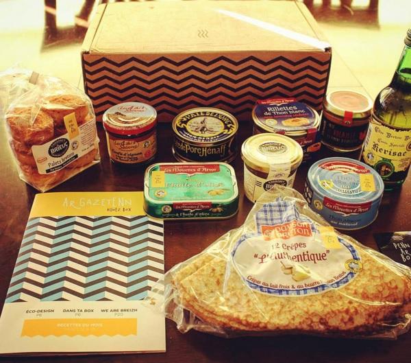 une box de sp cialit s culinaires bretonnes penn ar box topito. Black Bedroom Furniture Sets. Home Design Ideas