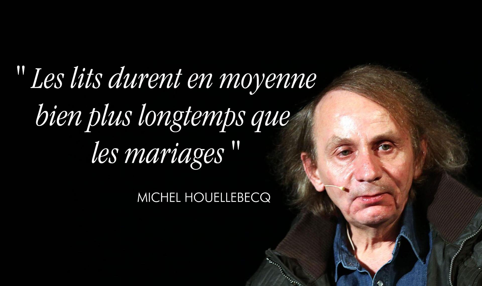 Top 12 Des Citations Déprimantes De Houellebecq Pour Bien
