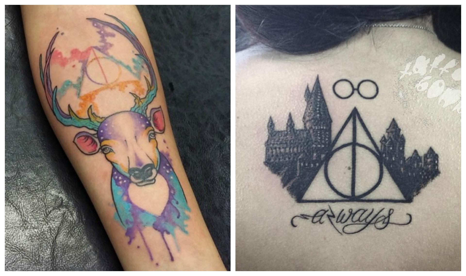 Top 15 des plus chouettes tatouages harry potter trouv s sur instagram a donne des id es topito - Le plus beau tatouage du monde ...