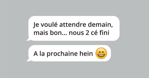 une_sms_largue