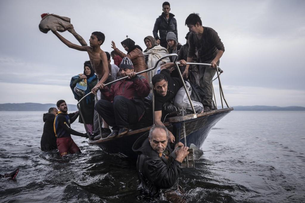 © Sergey Ponomarev - Reporting Europe's Refugee Crisis 01