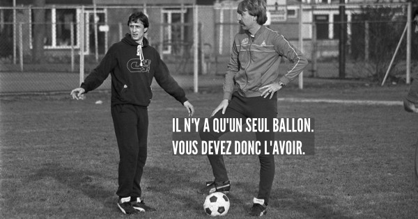 Top 10 Des Citations Inspirantes De Johan Cruyff Footballeur