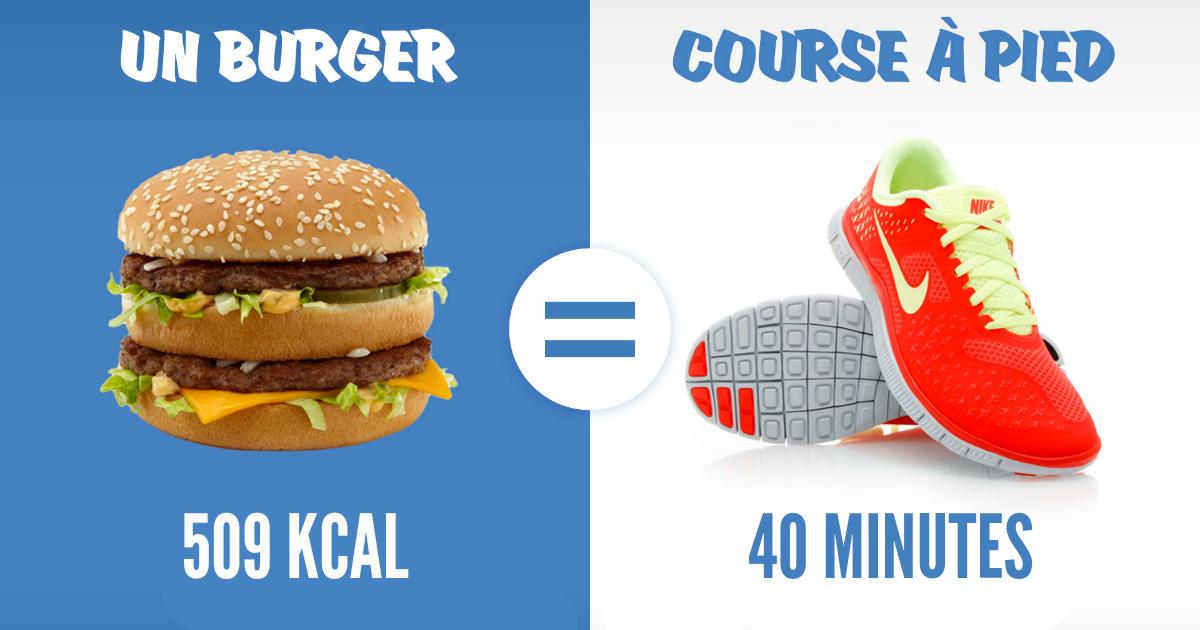 course a pied calories