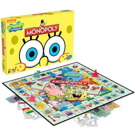 Un monopoly bob l 39 ponge topito - Jeux de spongebob cuisine ...