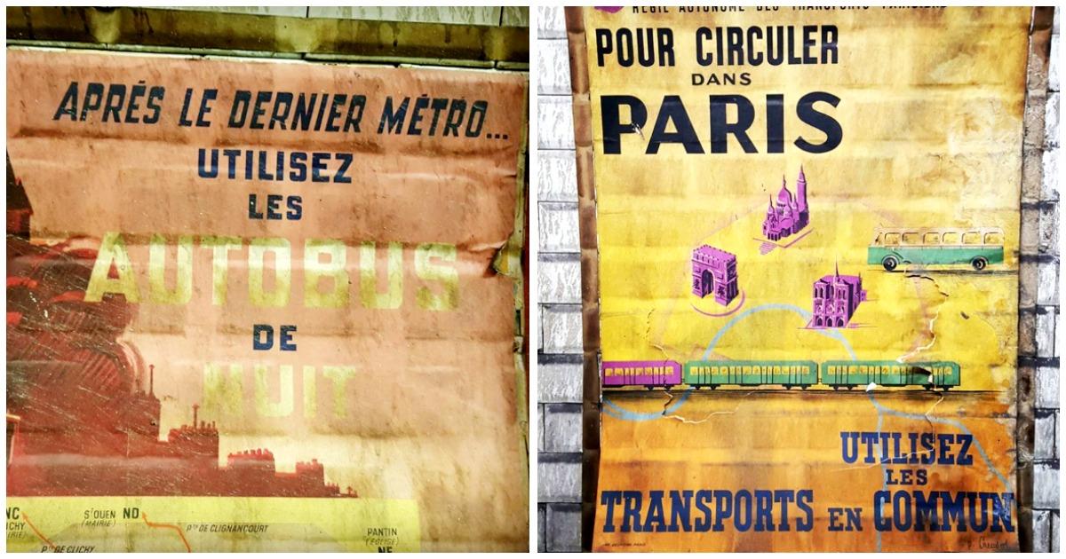 top 12 des affiches des ann es 50 d couvertes dans le m tro parisien un petit voyage dans le. Black Bedroom Furniture Sets. Home Design Ideas