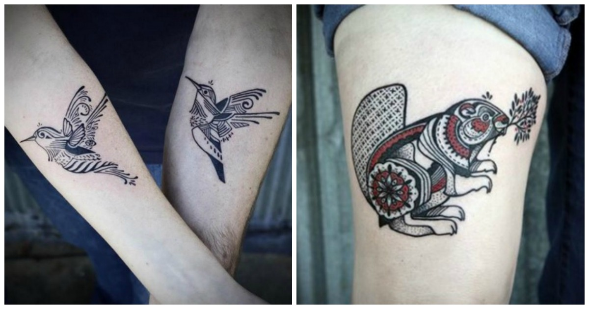 Top 15 Des Tatouages Beaucoup Trop Mignons De Hugo Tattooer