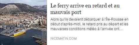 ferry retard