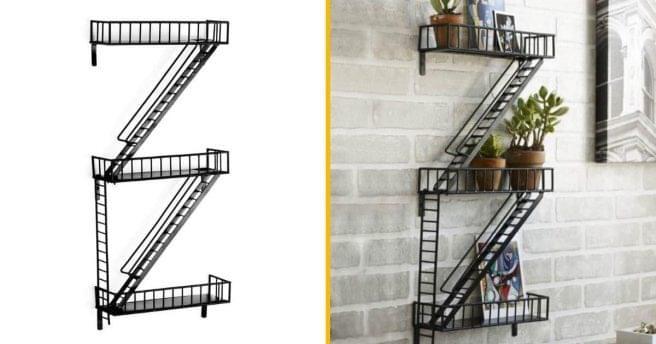 en New étagère d'escalier forme à York de Une secourscomme UjSzqGLVMp