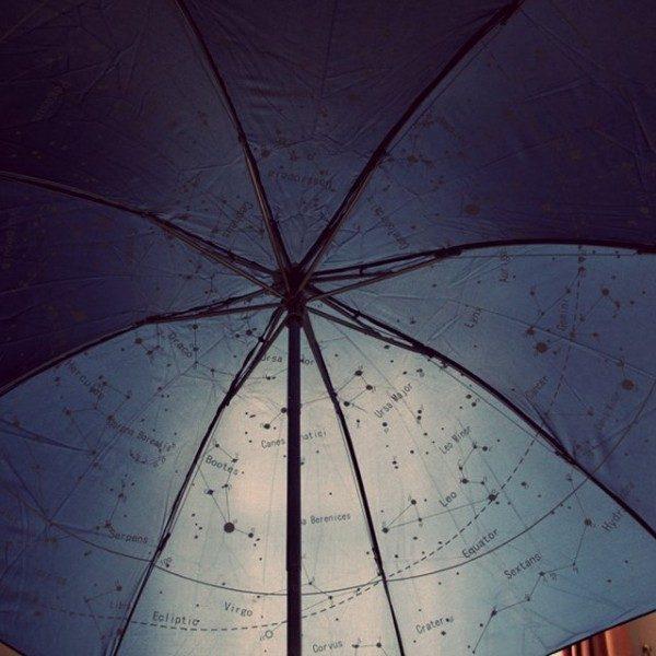 parapluie voie lactée