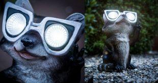 raton laveur lampe