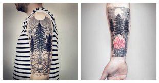 tatouage-paysage