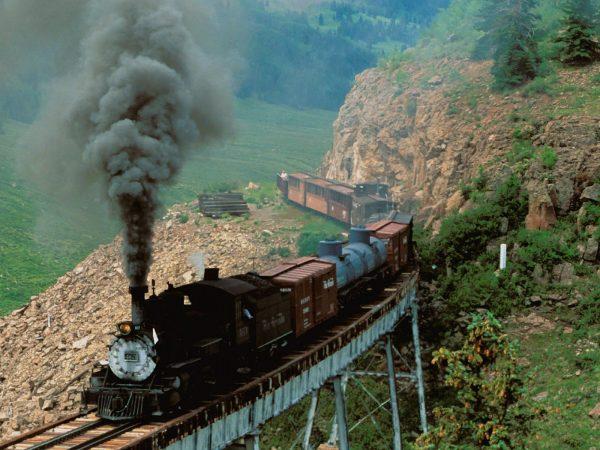 Cumbres & Toltec Scenic Railroad, Cascade Creek, Colorado