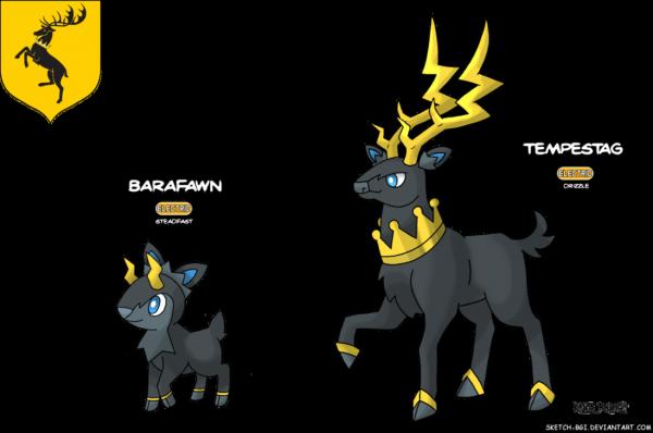 Quand Pokémon rencontre l'univers de Game of Thrones A_song_of_blue_and_red__baratheon_by_sketch_bgi-da5320e-600x398