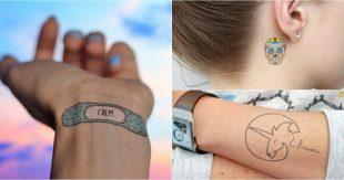 collage tatouage